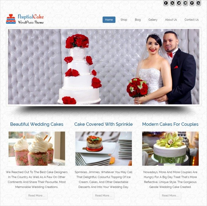 NupitalCake WP theme
