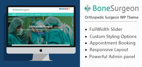 [BoneSurgeon] Orthopedic Surgeon WordPress Theme