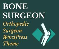 Bone Surgeon - Orthopedic Surgeon WordPress Theme & Template