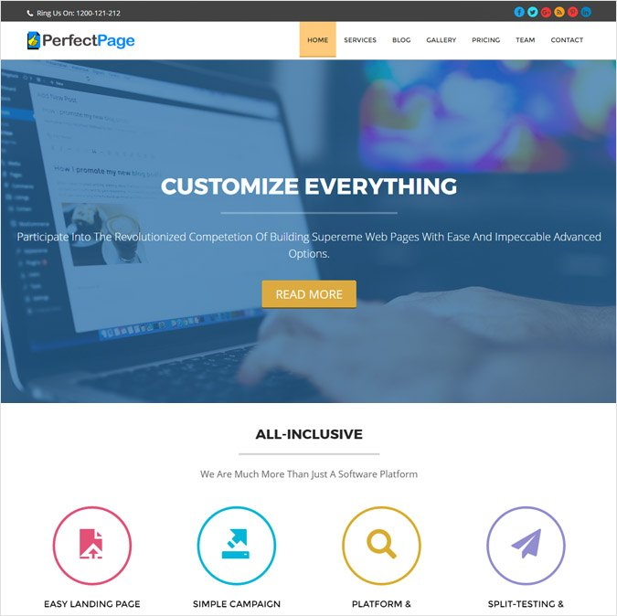 PerfectPage WP Theme