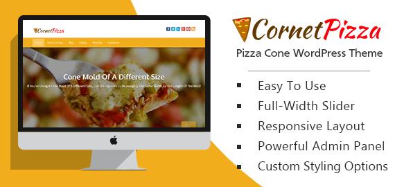 Pizza Cone WordPress Theme