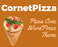 Cornet Pizza - Pizza Cone WordPress Theme & Template