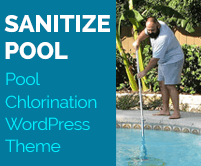 Sanitize Pool - Pool Chlorination WordPress Theme & Template