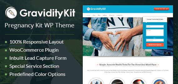 Pregnancy Kit WordPress Theme