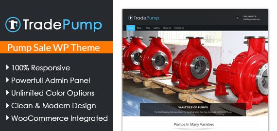 Pump Sale WordPress Theme