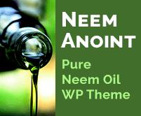 Neem Anoint - Pure Neem Oil WordPress Theme & Template