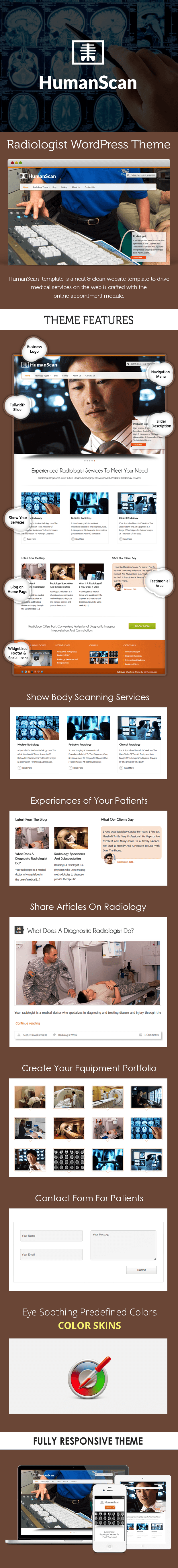Radiologist WordPress Theme
