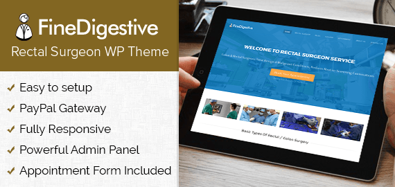 Rectal Surgeon WordPress Theme
