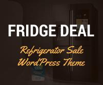 Fridge Deal - Refrigerator Sale WordPress Theme & Template