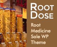 Root Dose - Root Medicine Sale WordPress Theme & Template