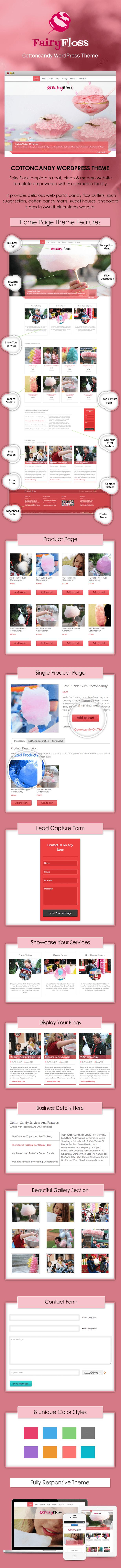 Cottoncandy WordPress Theme Sales