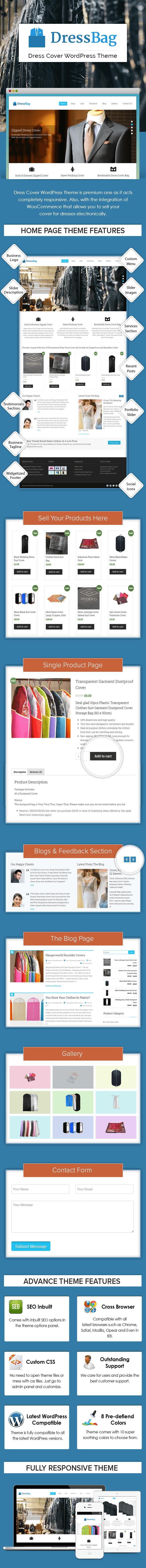 Dress Cover WordPress Theme