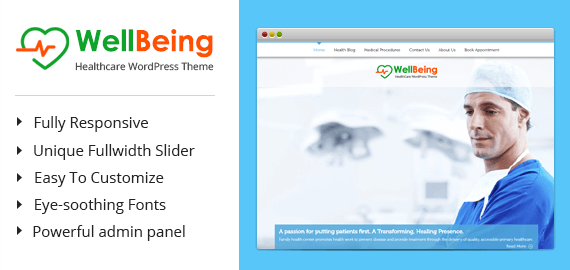 WellBeing – Santé Thème WordPress