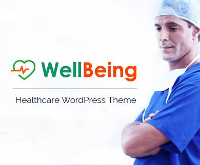 WellBeing - Santé Thème WordPress