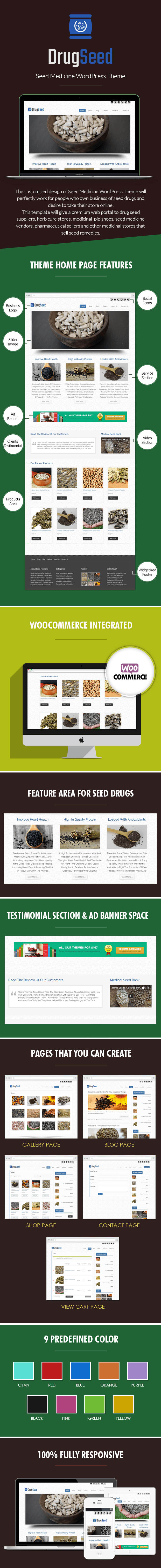 Seed Medicine WordPress Theme