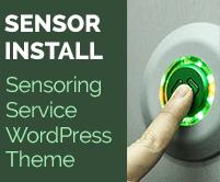 Sensor Install - Sensoring Service WordPress Theme & Template