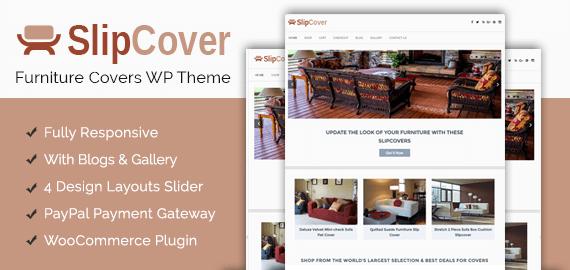 Furniture Covers WordPress Theme