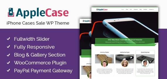 iPhone Cases Sale WordPress Theme