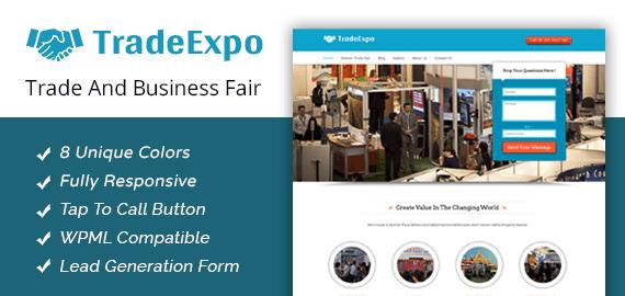 Trade Expo – Trade & Business Fair WordPress Theme