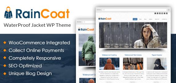 Rain Coat – Waterproof Jackets Sale WordPress Theme