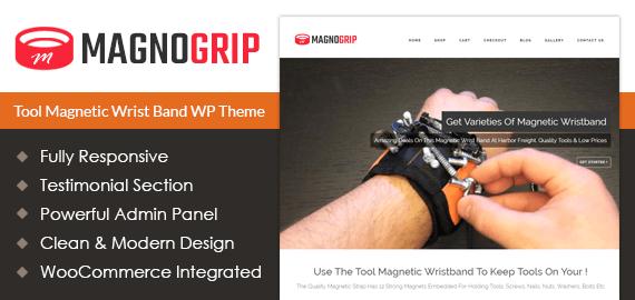 Tool Magnetic Wrist Band Sale WordPress Theme
