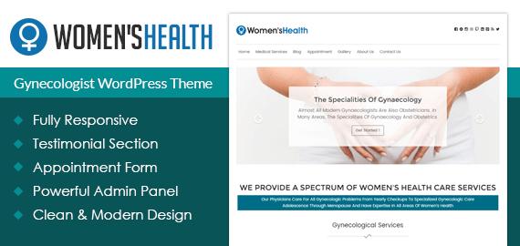 Gynecologist WordPress Theme