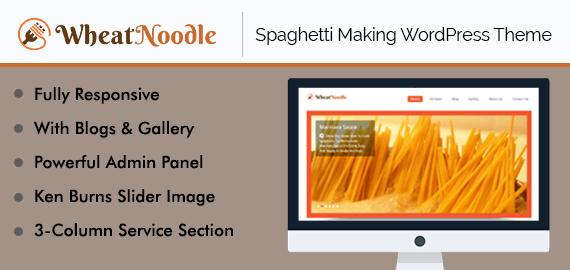 Spaghetti Making WordPress Theme