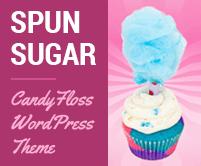 Spun Sugar - Candyfloss WordPress Theme & Template