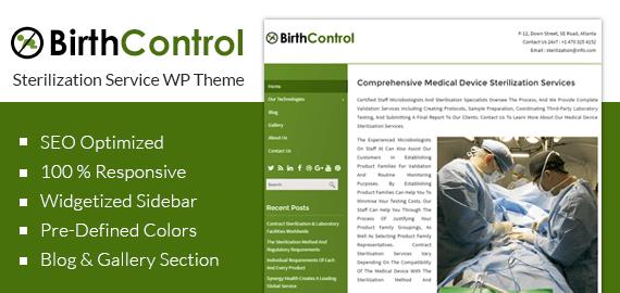[BirthControl] Sterilization Service WordPress Theme