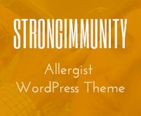 Strong Immunity - Allergist WordPress Theme & Template