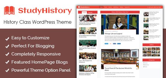 History Class WordPress Theme