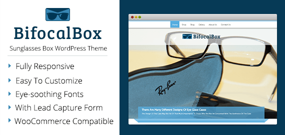 Sunglasses Box WordPress Theme