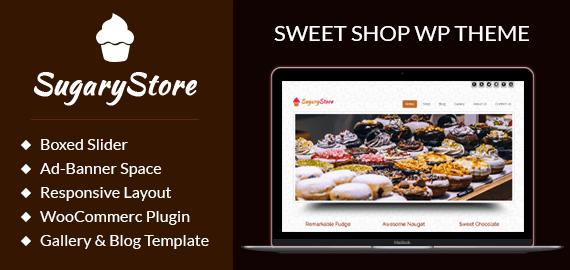 Sweet Shop WordPress Theme