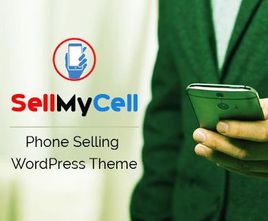 SellMyCell -  Téléphone Vendre Ecommerce WordPress Thème