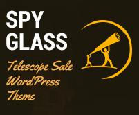 Spyglass - Telescope Sale WordPress Theme & Template