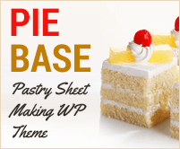 Pie Base - Pastry Sheet Making WordPress Theme & Template