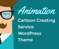Animation - Cartoon Creating Service WordPress Theme & Template