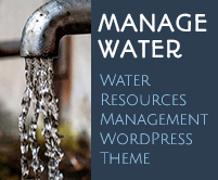 Manage Water - Water Resources Management WordPress Theme & Template