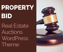 Property Bid - Real Estate Auctions WordPress Theme & Template