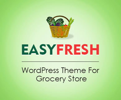 Easyfresh - Lebensmittelgeschäft WordPress Theme