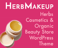 Herb Makeup - Herbs Cosmetics & Organic Beauty Shop WordPress Theme & Template