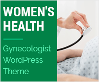 Women's Health - Gynecologist WordPress Theme & Template