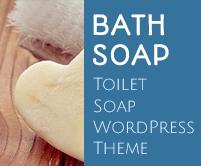 Bath Soap - Toilet Soap WordPress Theme & Template
