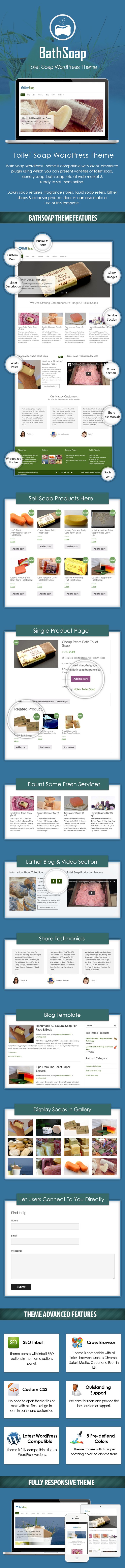 Toilet Soap WordPress Theme