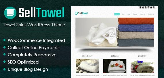 Towel Sales WordPress Theme