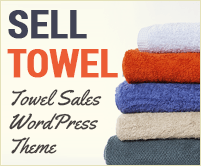Sell Towel - Towel Sales WordPress Theme & Template