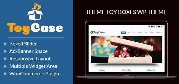 Toy Boxes WordPress Theme