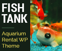 Fish Tank - Tropical Fish And Aquarium Rental WordPress Theme & Template
