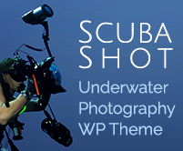 Scuba Shot - Underwater Photography WordPress Theme & Template