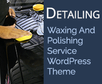 Detailing - Waxing And Polishing Service WordPress Theme & Template